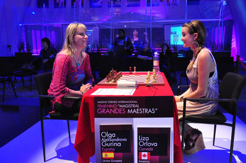 First Chess Video: WCM Orlova – WGM Alexandrova