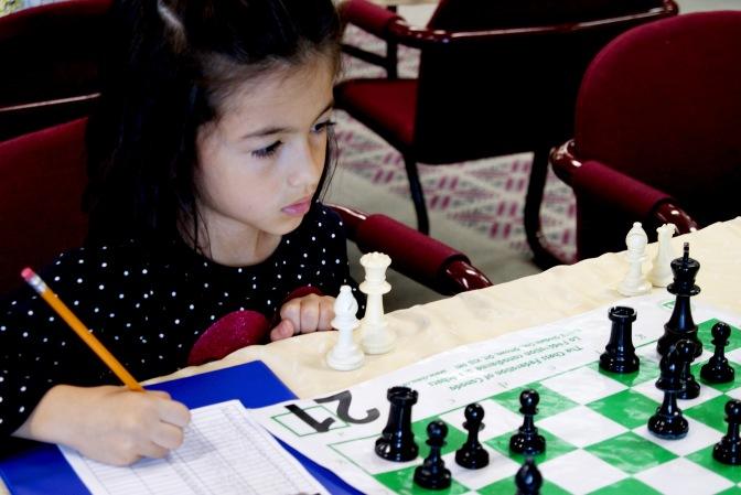 Ontario Girls' Chess Championship/Chess Photo-shoot